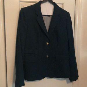 Hunter green J. Crew Schoolboy blazer size 6
